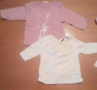 Pack 2 camisetas bebe