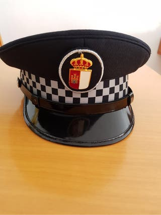 Gorra plato de policia CLM