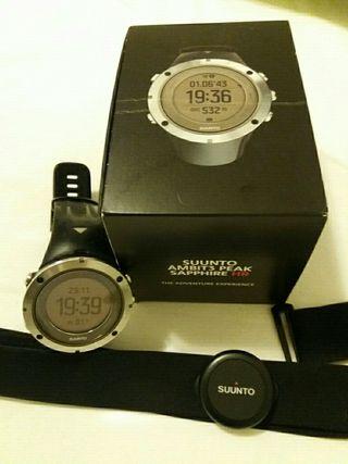 reloj GPS Suunto Ambit 3 Peak Sapphire