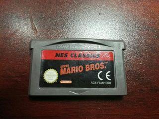 ness classics super mario game boy advance