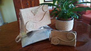 regalo para navidad bolso de mano y cartera