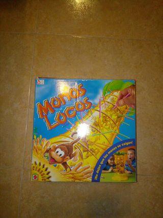 Monos locos juego niños