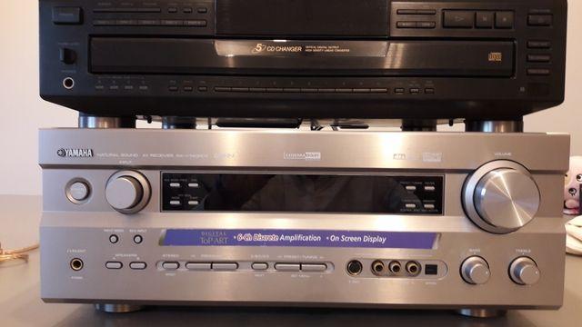 Amplificador receptor AV Yamaha RX-V740 RDS