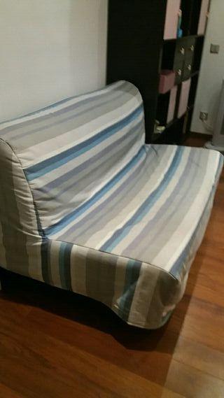 Sof cama de segunda mano por 100 en tei wallapop for Sofa cama segunda mano