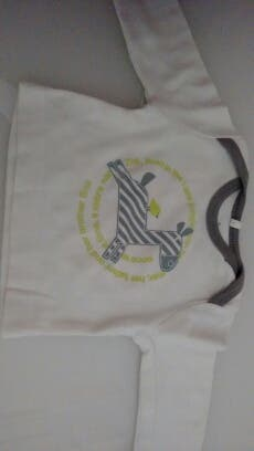 Camiseta recien nacido boboli