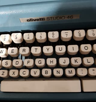 máquina escribir 1970
