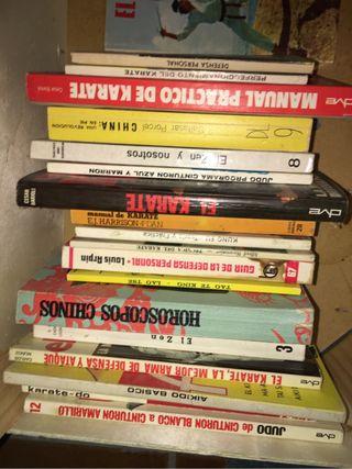Lote libros de Artes Marciales