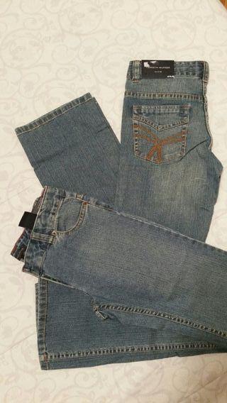 Pantalón recto Chica Tommy Hilfiger T14 y 16
