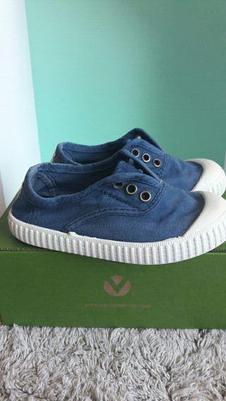 Lonas azul marino marca Victoria
