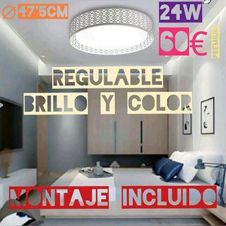 Lámpara de Techo LED Regulable 100% NUEVAS