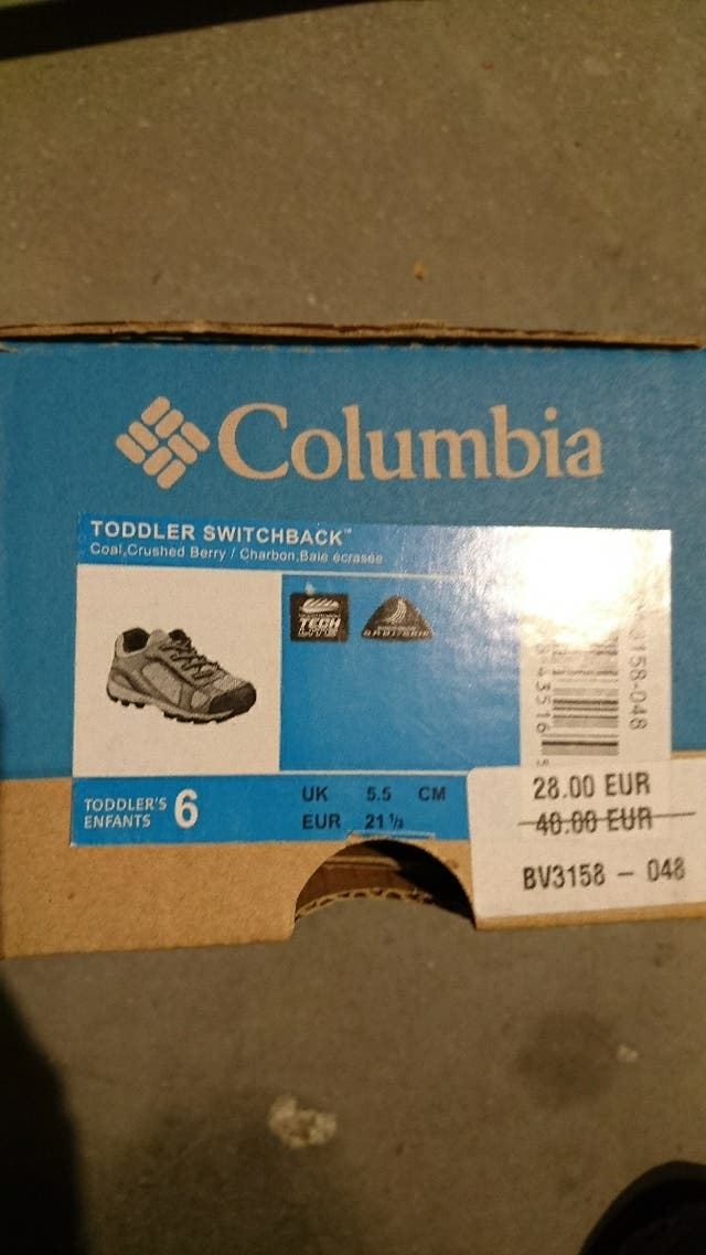 Columbia. Niños...