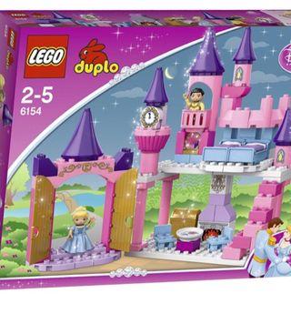 Lego duplo Castillo disney + carroza + caballo.