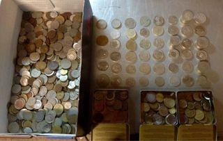Lote monedas de todo el mundo
