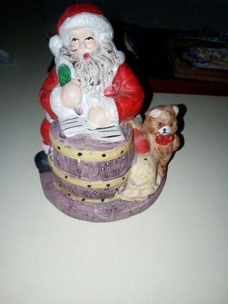 portavelas Papa Noel