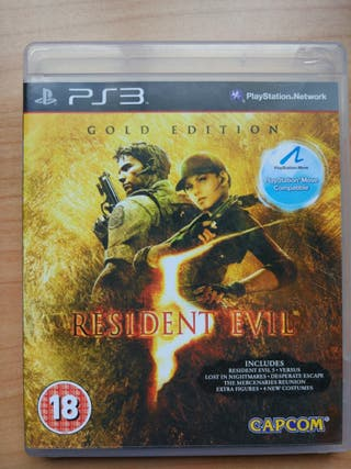 Videojuegos ps3 Resident evil 5 gold edition
