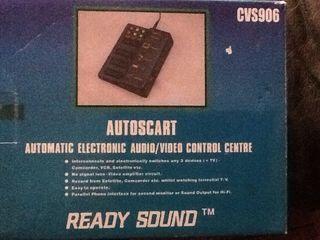 Centro de Control Audio y Vide
