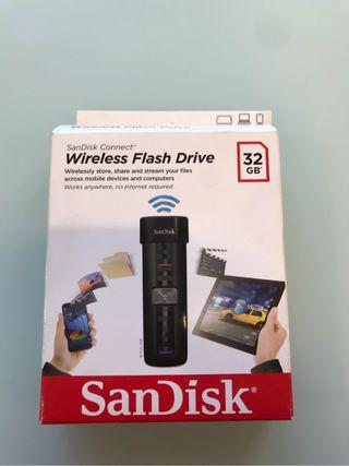 Memoria flash wireless 32 gb