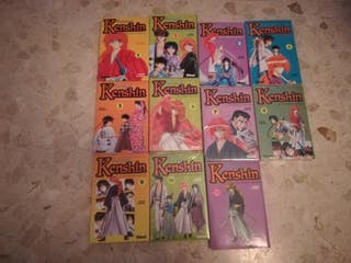 Rurouni Kenshin (El Guerrero Samurái) 1 a 11