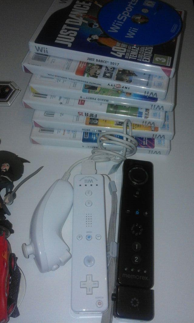 Consola Wii Juegos Wii Sport Wii Party Mandos De Segunda Mano