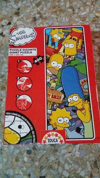 puzzle los simpsons 400 piezas