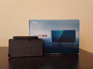 Caja Nintendo 3ds + Base de carga