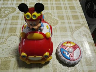 Juguete Mickey Mouse radio control.