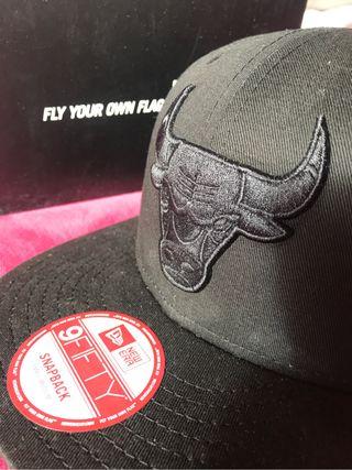 Gorra new era x bulls snapback