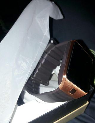 Reloj smartwatch Dorado