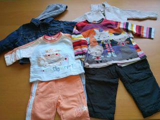 Ropa niño y bebé (0, 1, 2, 3, 4, 5 y 6 años)