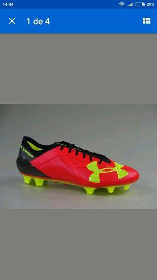 botas de futbol under amour