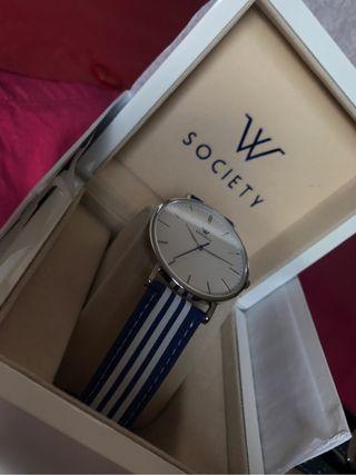 Reloj w society (nuevo con correas adicionales)