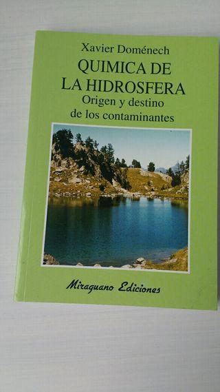 Libro Química de la Hidrosfera UNED