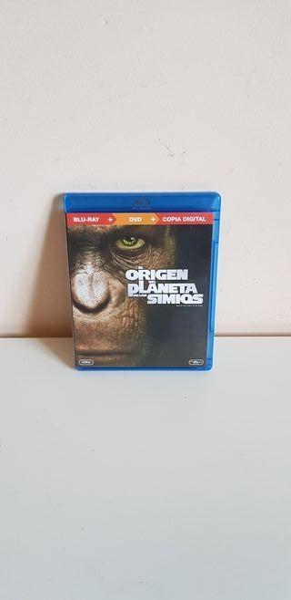 Blu Ray El Planeta De Los Simios El Origen