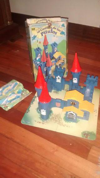 castillo Pitufos exin