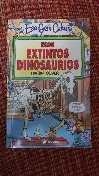 libro historia de los dinosaurios