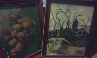 2 cuadros de lienzo