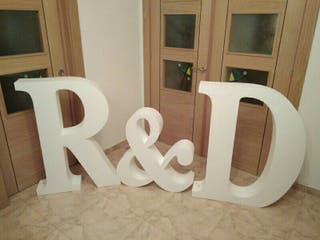 Letras decoración