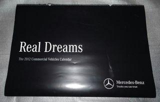 Calendario pared Mercedes Benz Gigante