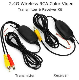 RCA color video transmitter/receiver