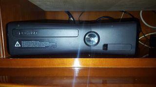 xbox 360+kinet+2 mandos+50 juegos