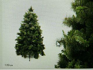 Árbol de Navidad 200 ramas y mide 1.20 mts. Artícu