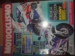 revista motociclismo 1992