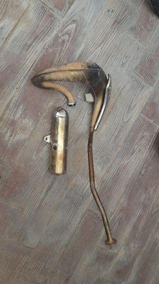 tubo de escape de serie derbi 50cc