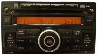 Radio CD nissan juke
