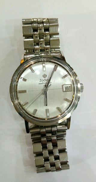 reloj antiguo automático marca ZODIAC AUTOMATIC