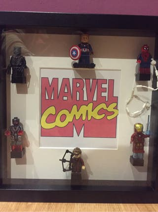 Cuadro Marvel Lego