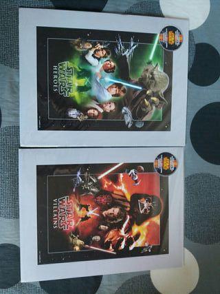 Pack Láminas edición limitada numerada Star Wars