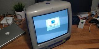 Ordenador Apple iMac G3 azul indigo