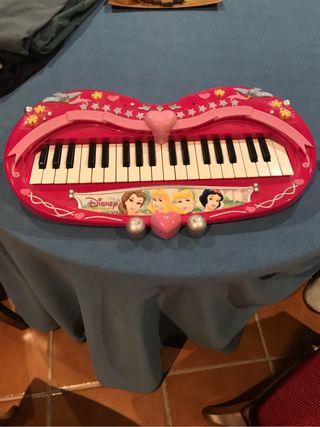 Piano princesas disney