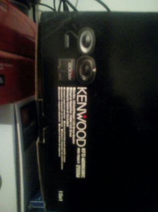 kit subwofer kenwood auto ampli